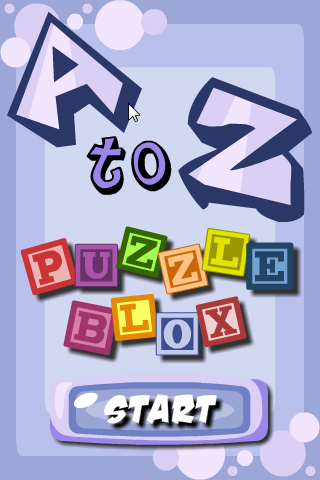 Screenshot A to Z Puzzle Blox