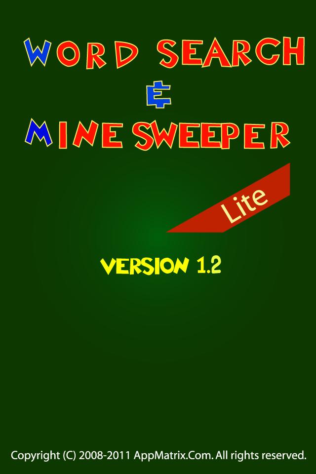 Screenshot W&M-Wordsearch & Minesweeper Lite